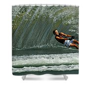 Water Skiing Magic Of Water 1 Shower Curtain