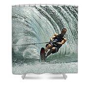 Water Skiing Magic Of Water 10 Shower Curtain