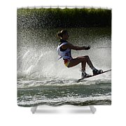 Water Skiing Magic Of Water 16 Shower Curtain