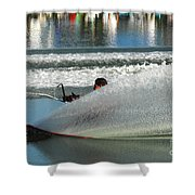 Water Skiing Magic Of Water 17 Shower Curtain