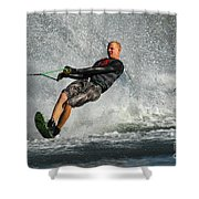 Water Skiing Magic Of Water 20 Shower Curtain
