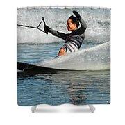 Water Skiing Magic Of Water 22 Shower Curtain