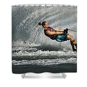 Water Skiing Magic Of Water 23 Shower Curtain