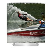Water Skiing Magic Of Water 26 Shower Curtain