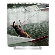 Water Skiing Magic Of Water 28 Shower Curtain