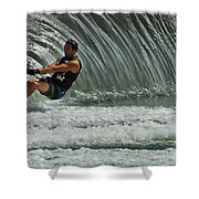 Water Skiing Magic Of Water 3 Shower Curtain