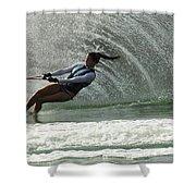 Water Skiing Magic Of Water 32 Shower Curtain