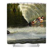 Water Skiing Magic Of Water 33 Shower Curtain