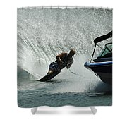 Water Skiing Magic Of Water 6 Shower Curtain