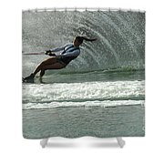 Water Skiing Magic Of Water 9 Shower Curtain