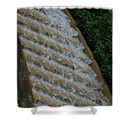 Water Steps 1 Shower Curtain