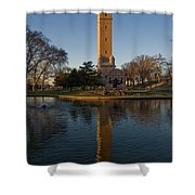 Water Tower Park 1 Shower Curtain