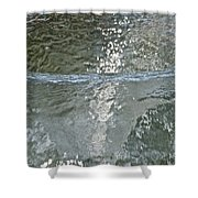 Water Wall Shower Curtain