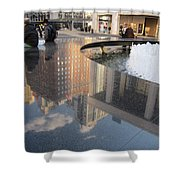 Lincoln Center Reflections Shower Curtain
