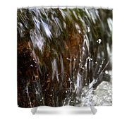 Water Wrapped Shower Curtain