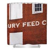 Waterbury Feed Shower Curtain