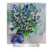 Watercolor 110190 Shower Curtain