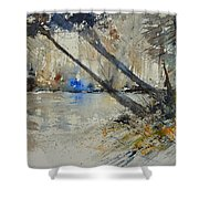 Watercolor 119080 Shower Curtain