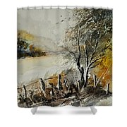 Watercolor 212052 Shower Curtain