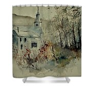 Watercolor 212082 Shower Curtain