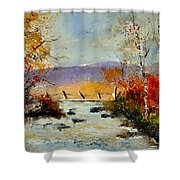 Watercolor 212092 Shower Curtain
