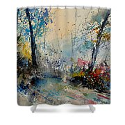 Watercolor 213020 Shower Curtain