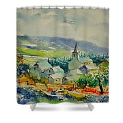 Watercolor 216021 Shower Curtain