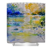 Watercolor 217082 Shower Curtain