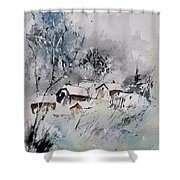 Watercolor 218042 Shower Curtain
