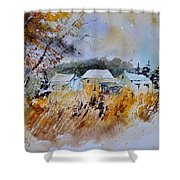 Watercolor 219003 Shower Curtain