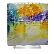 Watercolor 219041 Shower Curtain