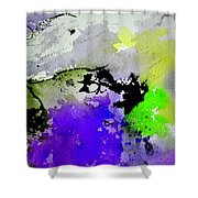 Watercolor 65654 Shower Curtain
