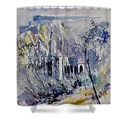 Watercolor Dinant 110172 Shower Curtain