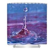Waterdrop11 Shower Curtain