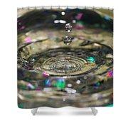 Waterdrop14 Shower Curtain