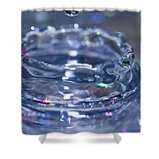 Waterdrop15 Shower Curtain