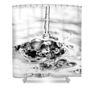 Waterdrop16 Shower Curtain