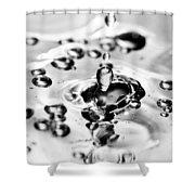Waterdrop17 Shower Curtain
