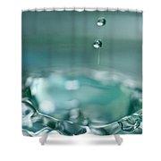 Waterdrop2 Shower Curtain