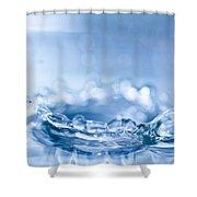 Waterdrop3 Shower Curtain