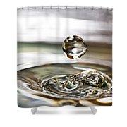 Waterdrop5 Shower Curtain