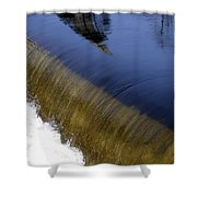 Waterfall And Reflections Shower Curtain