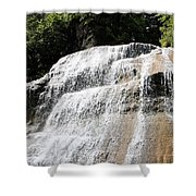 Waterfall At Treman State Park Ny Shower Curtain