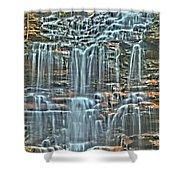 Waterfall Highights Shower Curtain