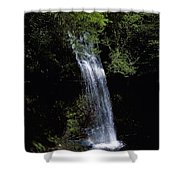Waterfall In A Forest, Glencar Shower Curtain