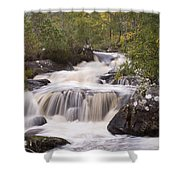 Waterfall In The Highlands Shower Curtain