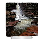 Waterfall Ricketts Glen Shower Curtain
