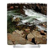 Waters Edge Glen Alpine Creek Shower Curtain