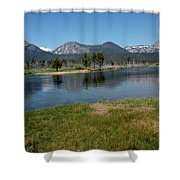 Waters Lead To Lake Tahoe Shower Curtain