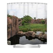 Waterscape Shower Curtain